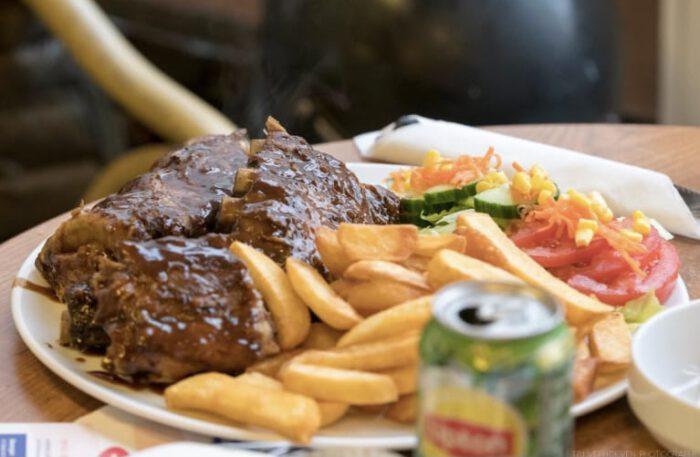 American Spareribs Goes Terneuzen menu