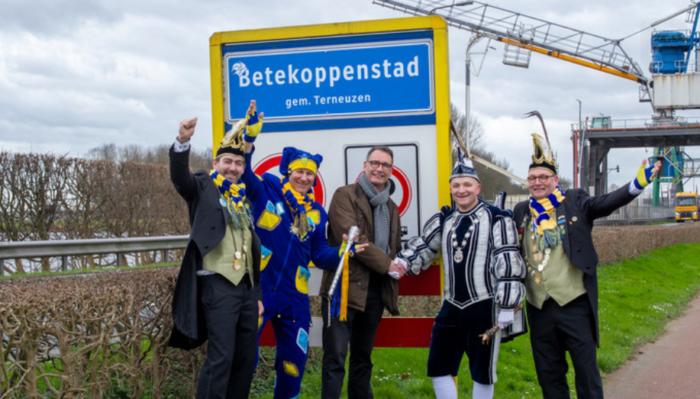 Betekoppenstad Sas Van Gent Carnaval