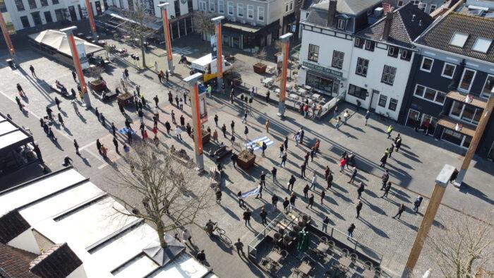 Demonstratie Terneuzen ondernemers horeca corona