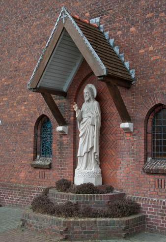 Het Heilige Hartbeeld Westdorpe